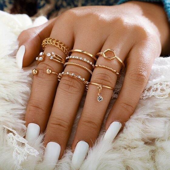Bague Style hippie chic